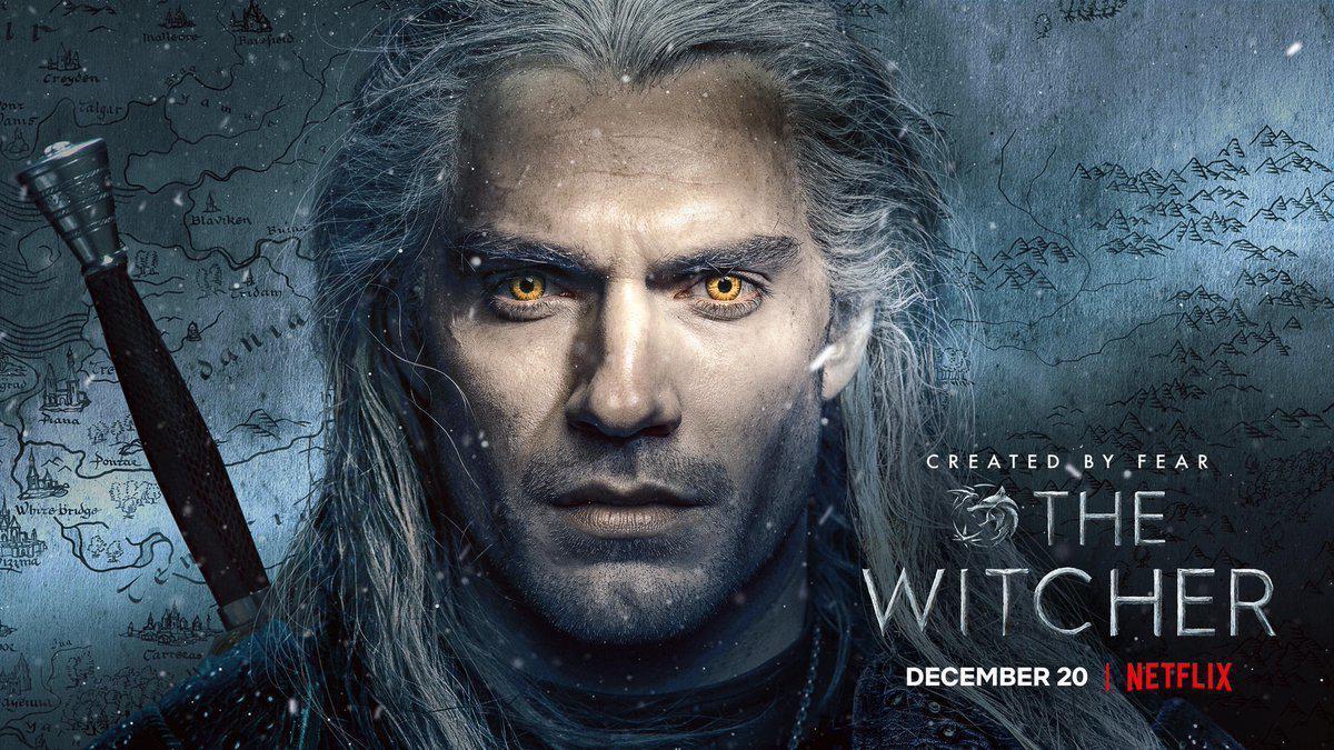 Постер головного героя Геральта \ twitter.com/witchernetflix