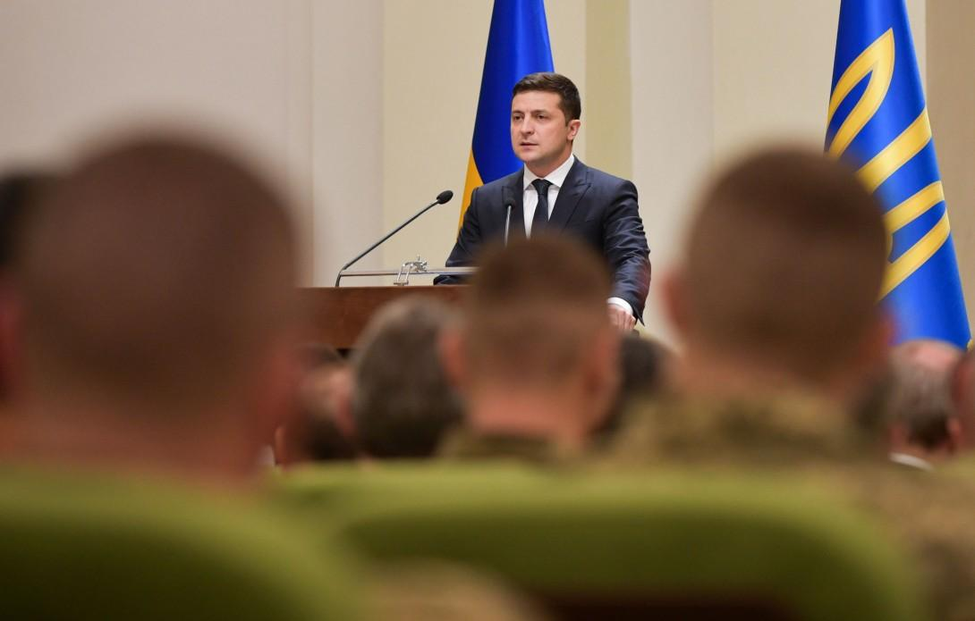 Зеленський привітав військових з днем Збройних сил України / president.gov.ua