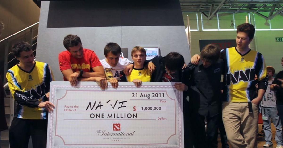 Украинская компанда NAVI выиграла первый турнир по игре Dota 2 - The International / my.ua