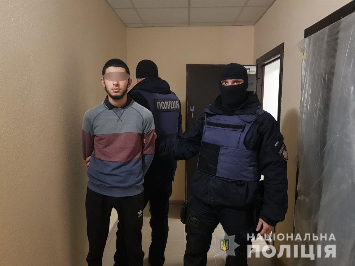 На Київщині затримано групу розбійників / Фото: нацполіція