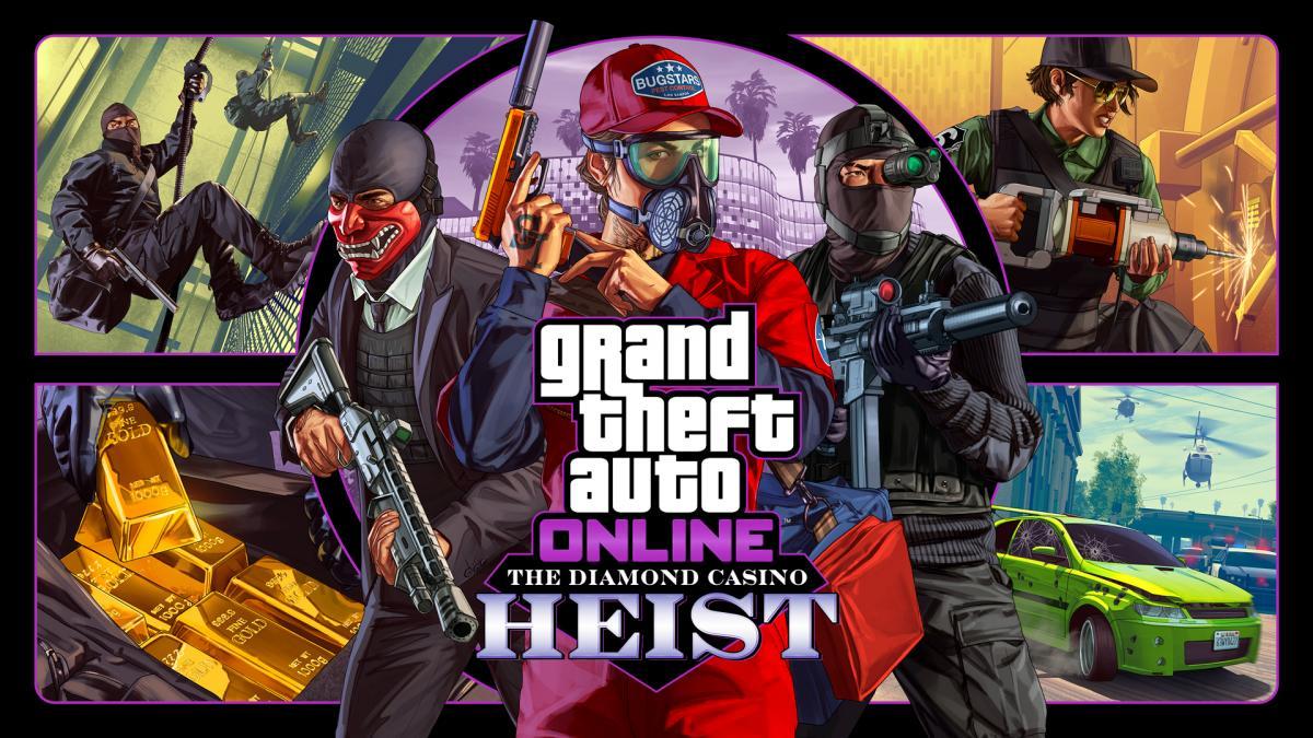 GTA Online приносит разработчикам огромные деньги /фото rockstargames.com