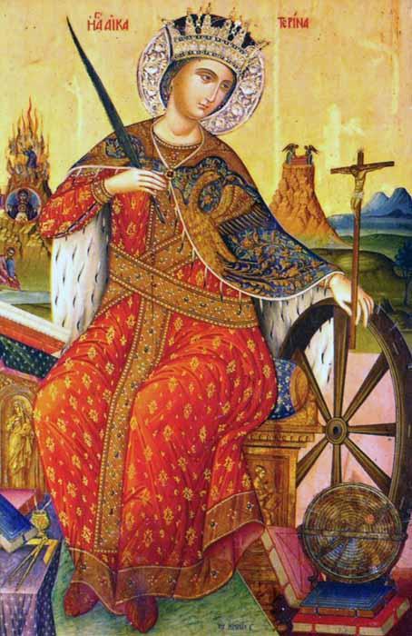 Ікона свята Катерина