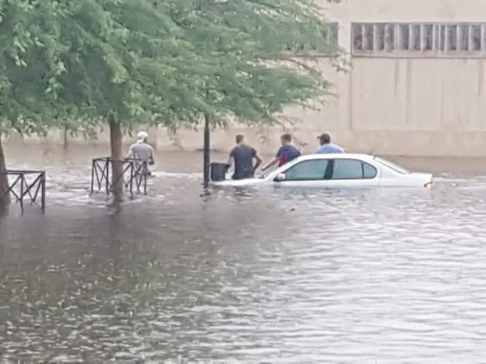 Наводнение в ЮАР / twitter.com/StormReportSA1