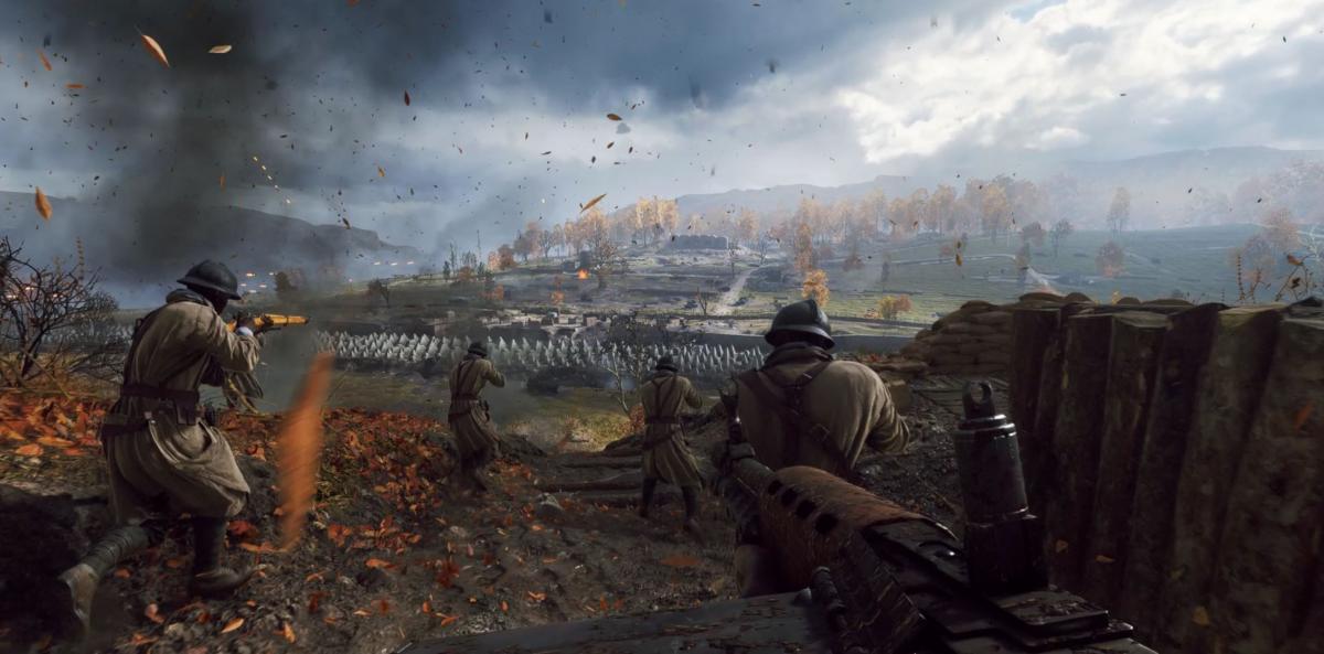 В Battlefield V з'явиться культова локація з першої частини ігрової серії / скріншот