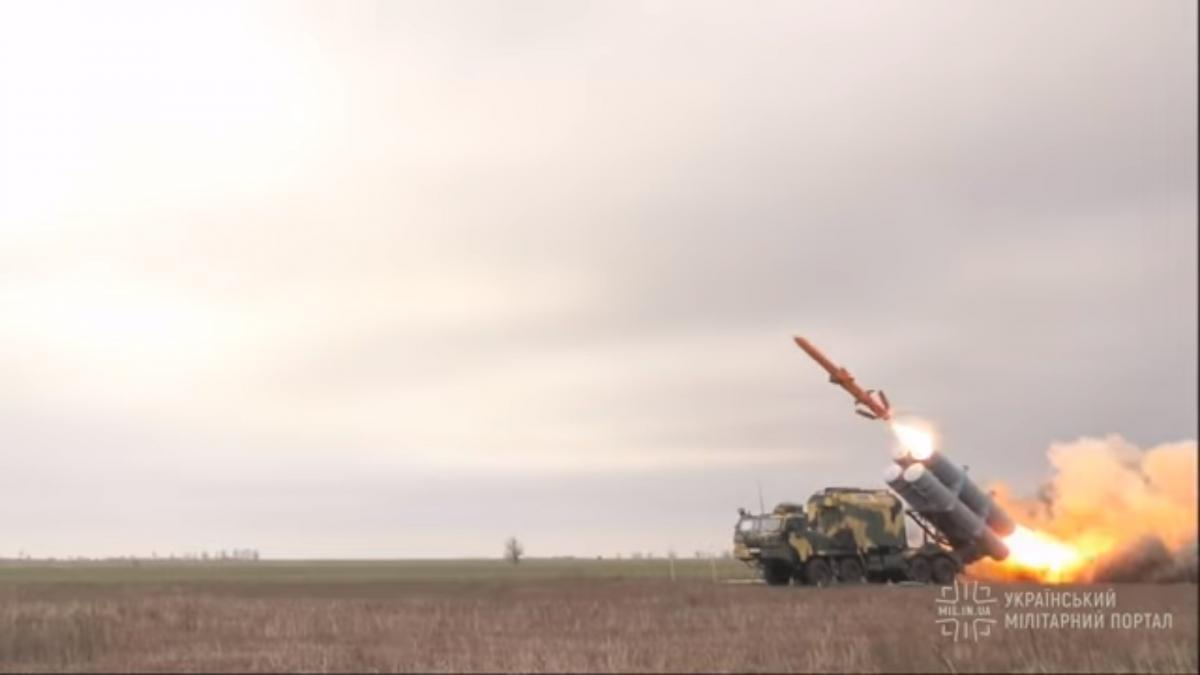 Ракета совершила полет в несколько сотен километров / скриншот