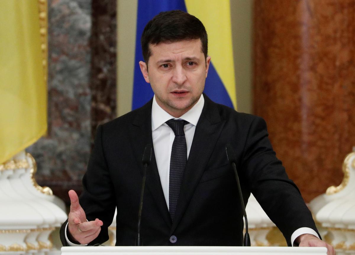 Volodymyr Zelensky / REUTERS