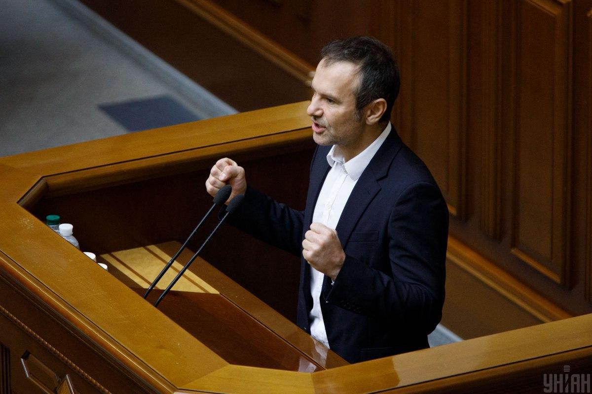 Вакарчук: мы поддерживаем желание отстоять мир на украинских условиях / фото УНИАН