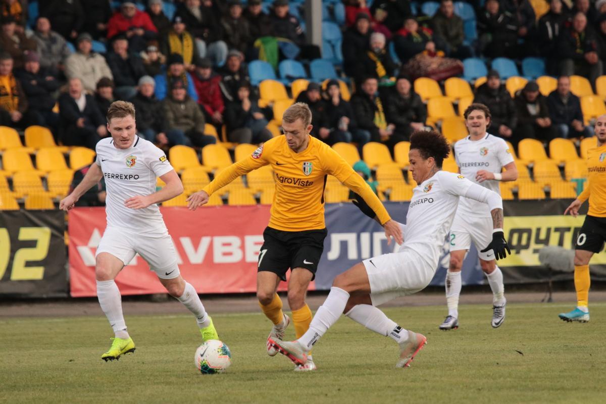 Александрия - Ворскла - 3:0 / фото: fco.com.ua