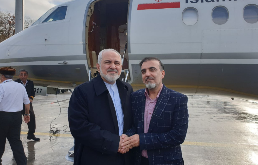 Іранський вчений повернувся на Батьківщину \ twitter.com/JZarif