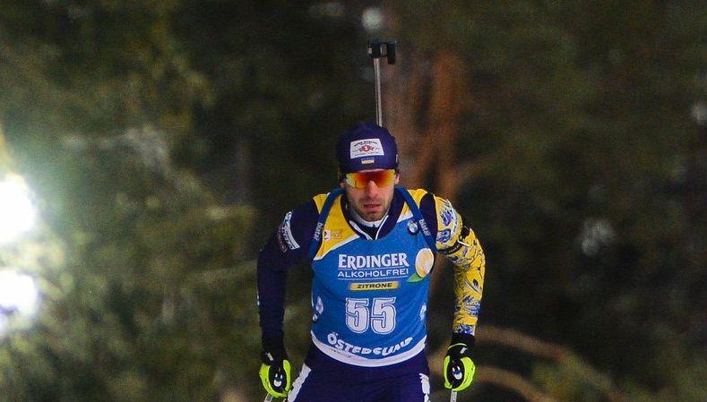 Руслан Ткаленко выступал на третьем этапе / фото: biathlon.com.ua