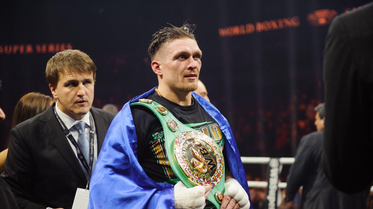 Компания Усика может провести вечер бокса в Киеве / фото BoxingScene