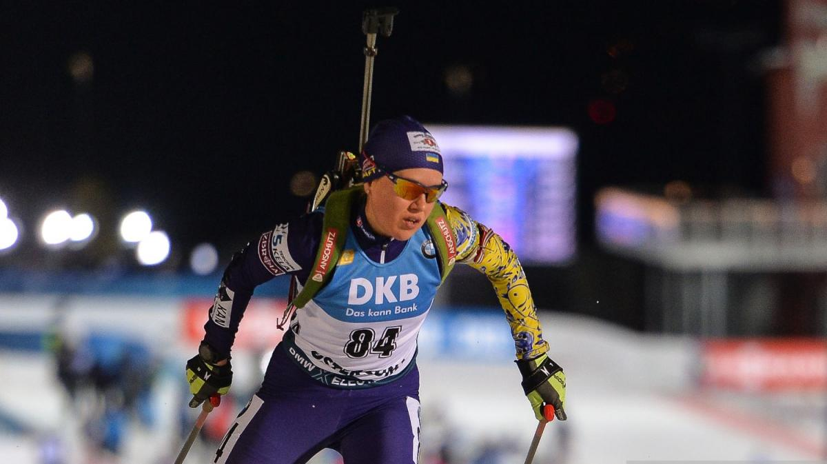 Анастасія Меркушина стала призером ЧЄ / фото biathlon.com.ua