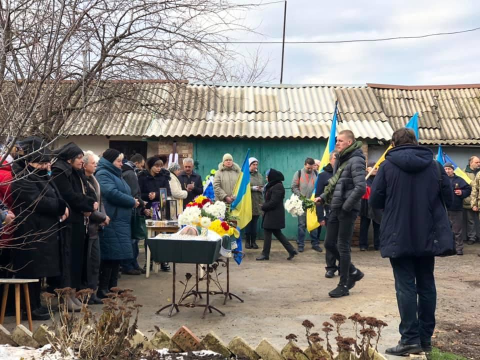 У Бахмуті попрощалися з Артемом Мірошниченком / фото facebook/nastka.ukrainka