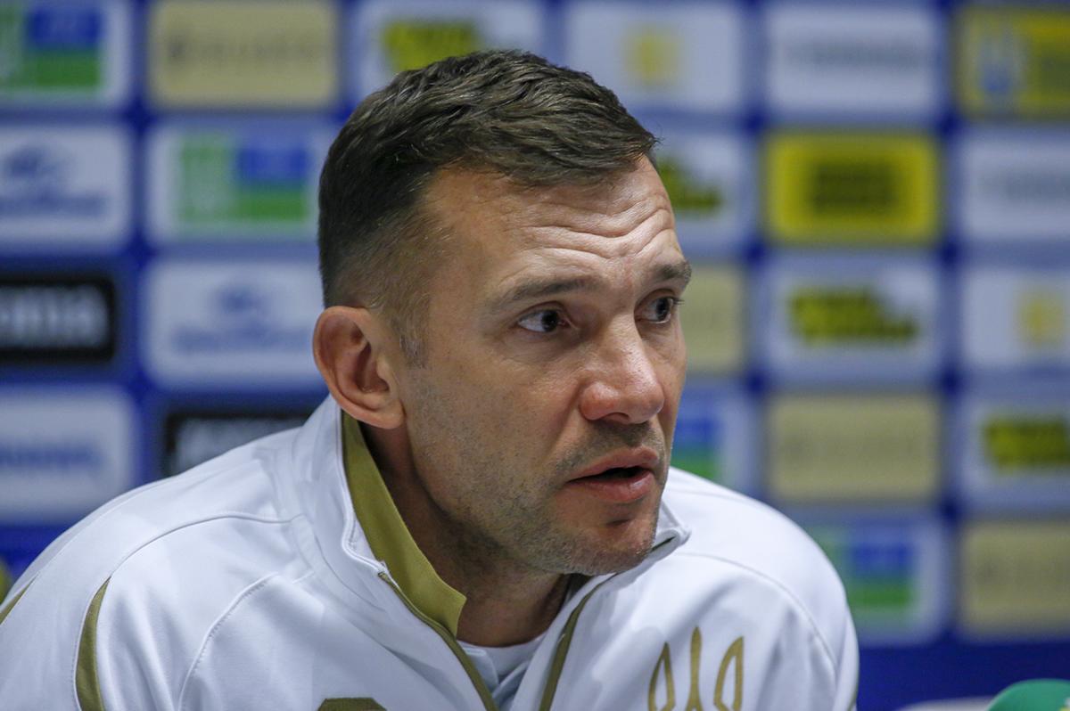Андрей Шевченко заявил, что команда настраивается на победу / фото УАФ