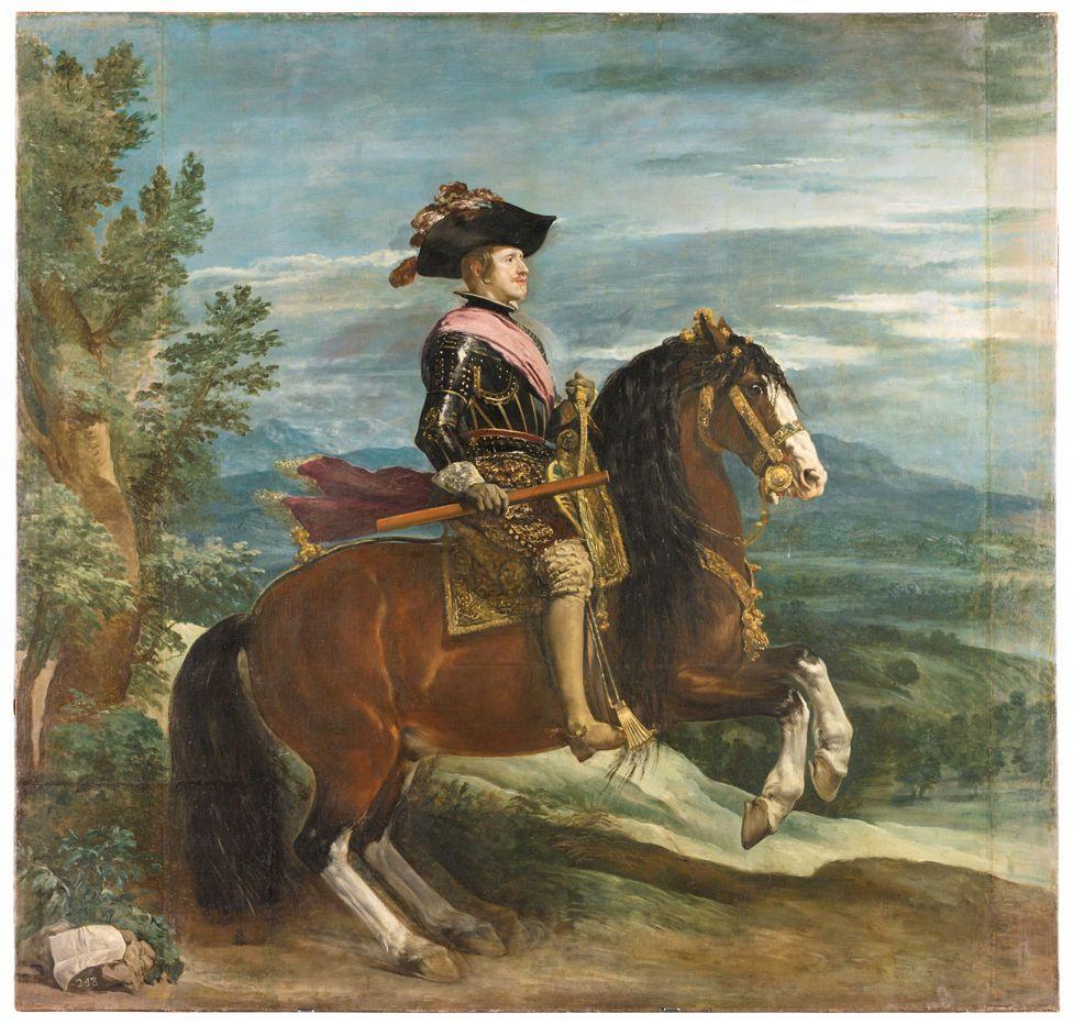 Портрет короля Филиппа IV Диего Веласкеса \ WWF SPAIN / MUSEO DEL PRADO