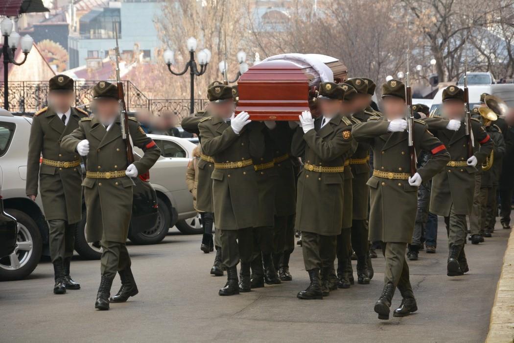 Прощание с Дмитрием Каплуновым / Фото: СБУ