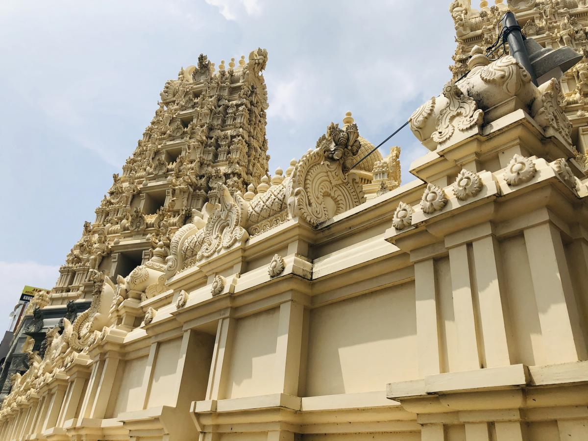 Индуистский храм в Галле / Фото Вероника Кордон