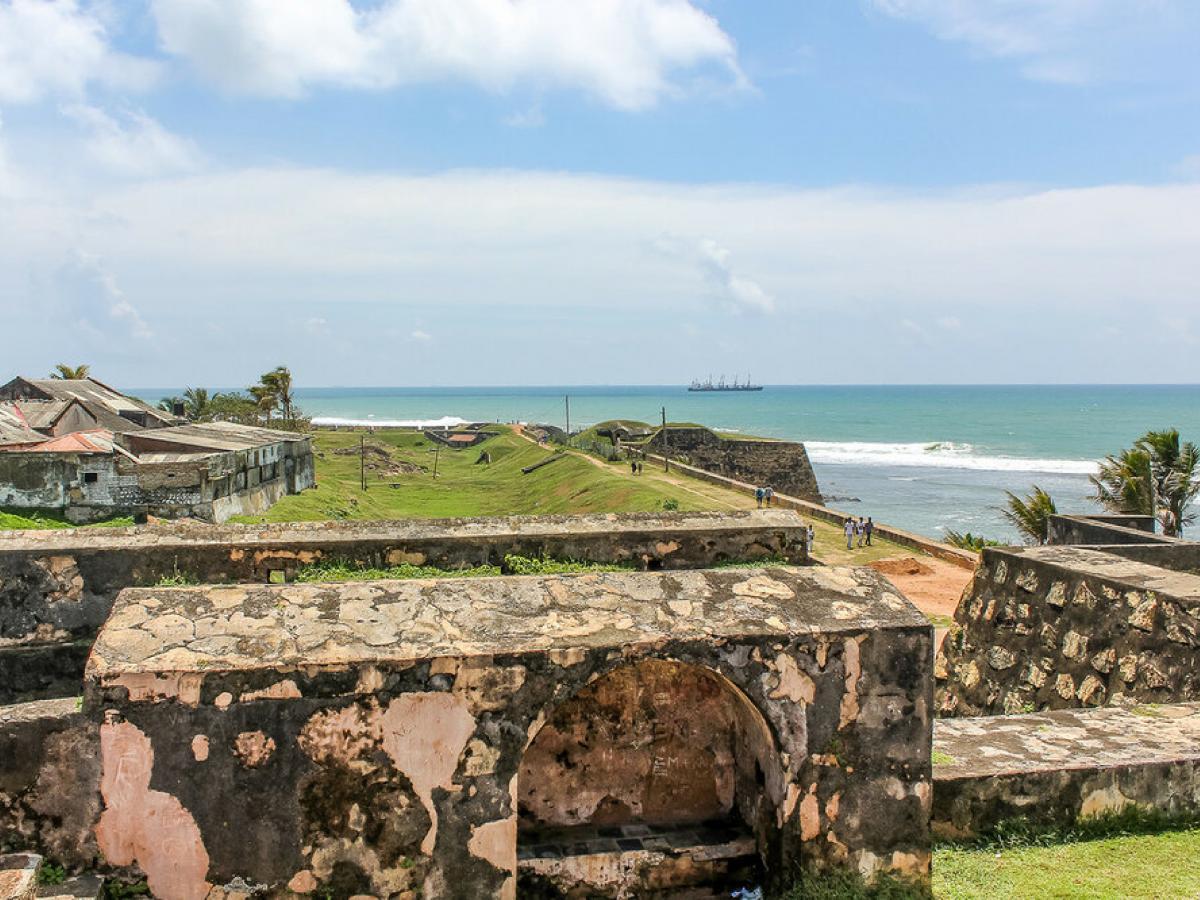 Голландский форт в Галле / Фото Вероника Кордон