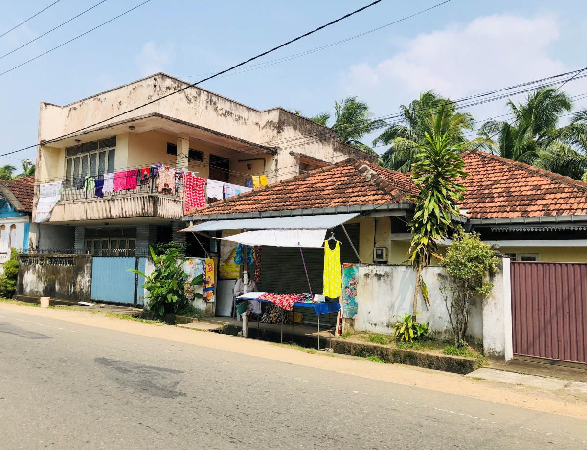 Улицы города Калутара, Шри-Ланка / Фото Вероника Кордон