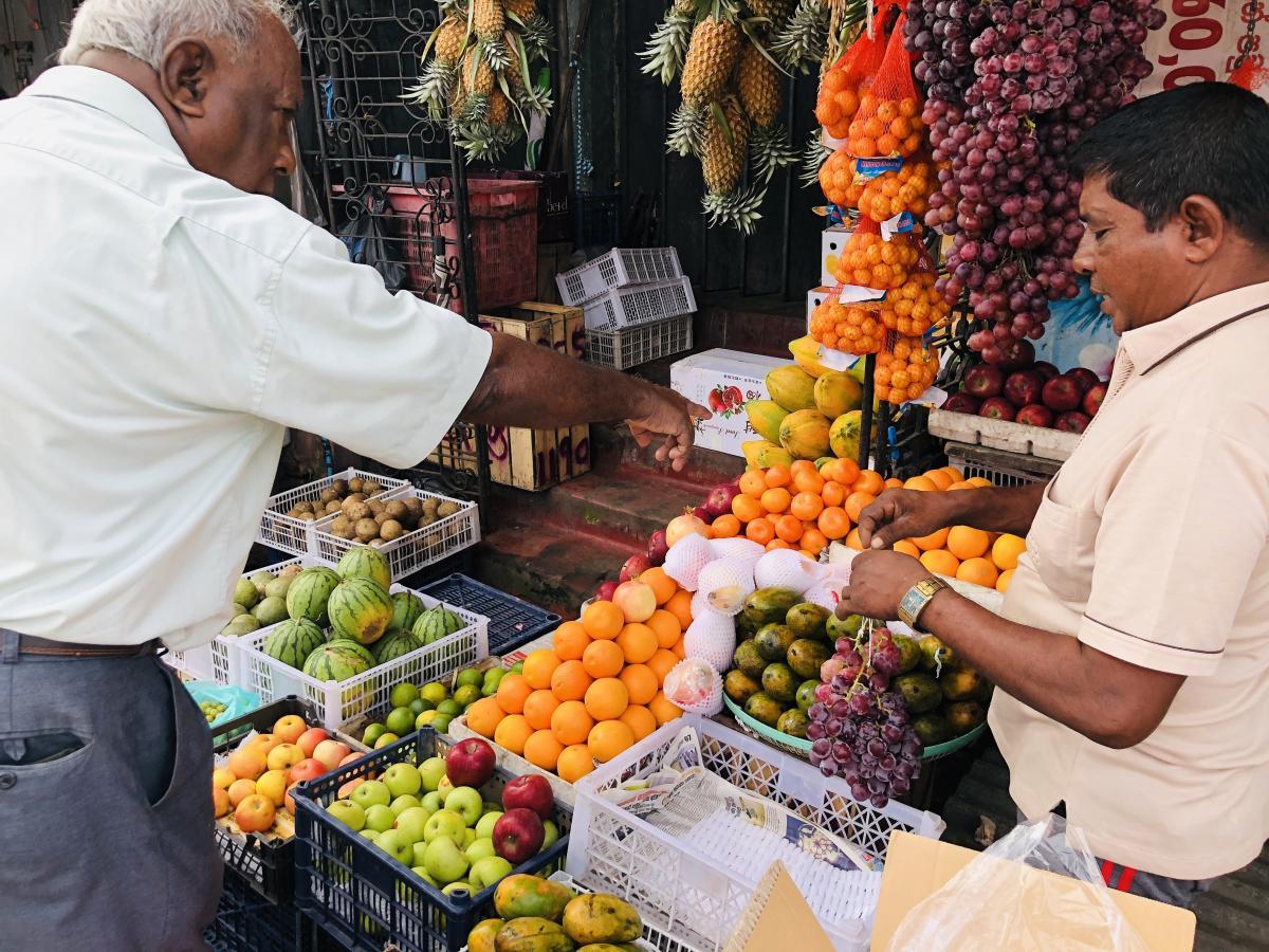 Обязательно попробуйте местные фрукты / Фото Вероника Кордон