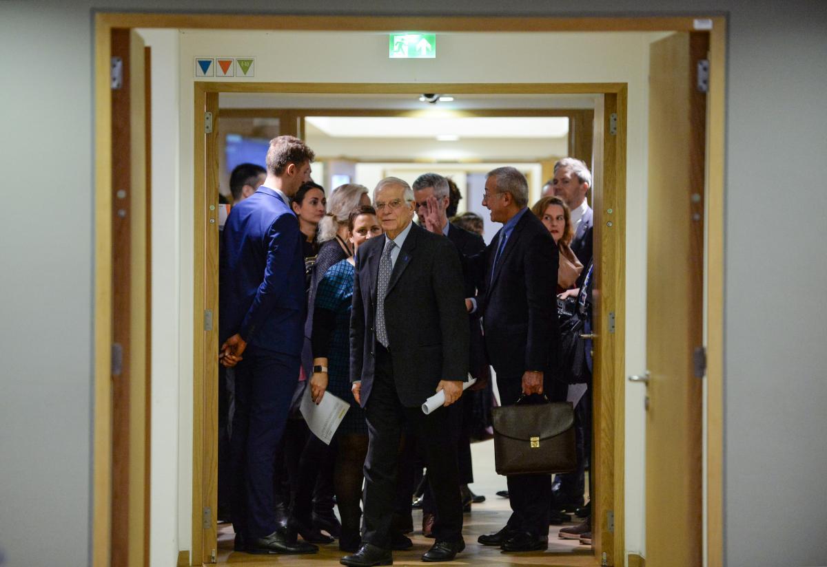 Josep Borrell / REUTERS