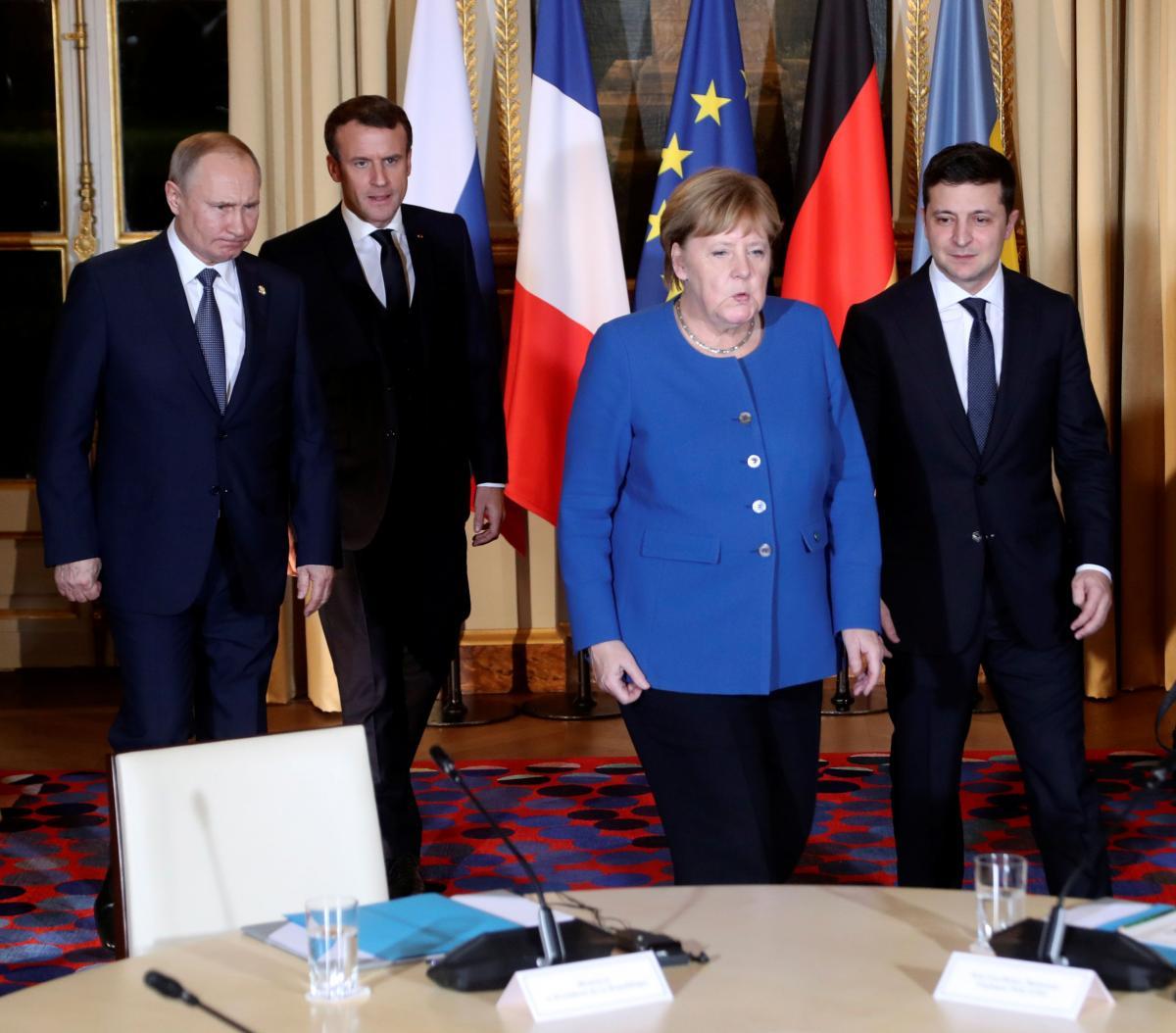 """Стало відомо, що обговорюють лідери """"нормандської четвірки"""" / REUTERS"""