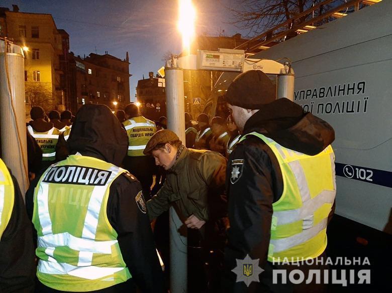 В полиции Киева утверждают, что пока нарушений не зафиксировали / facebook.com/UA.KyivPolice