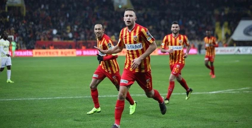 Кравець провів третій матч у сезоні / фото: twitter.com/kayserisporfk