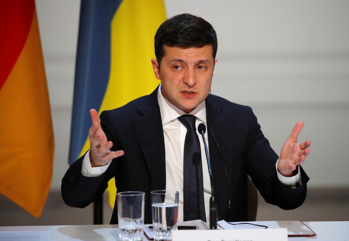 Президент Украины Владимир Зеленский \ REUTERS