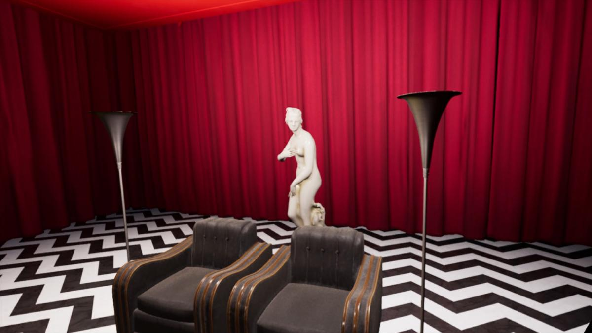 В Twin Peaks VR игроки смогут исследовать таинственный «Черный Вигвам» / store.steampowered.com