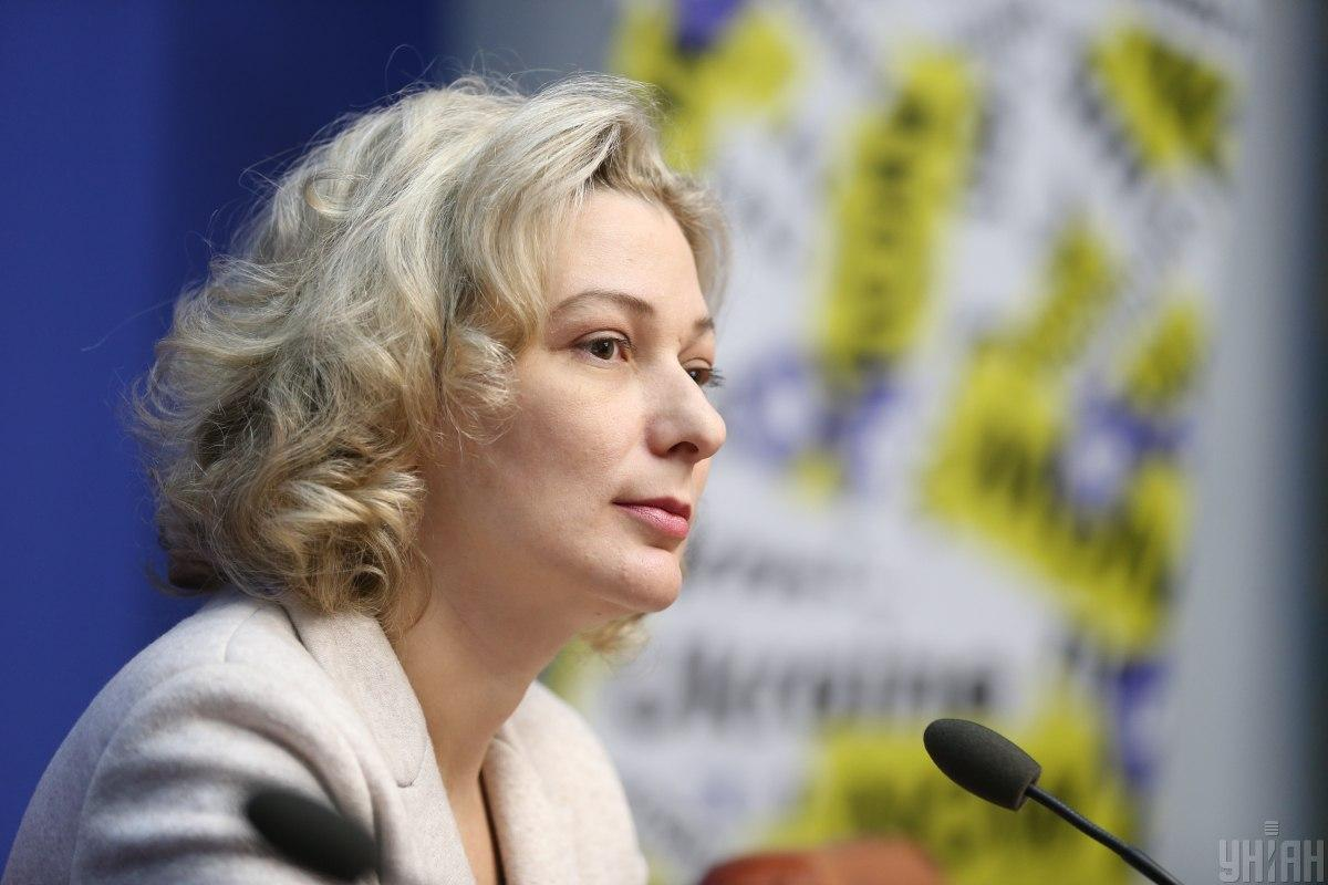 Татьяна Монахова занимала должность языкового омбудсмена с ноября прошлого года / УНИАН