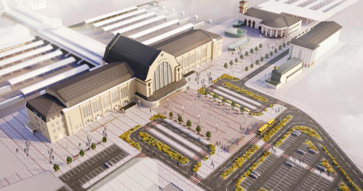 Центральный железнодорожный вокзал в Киеве реконструируют / фото facebook/Kravtsov.Evg