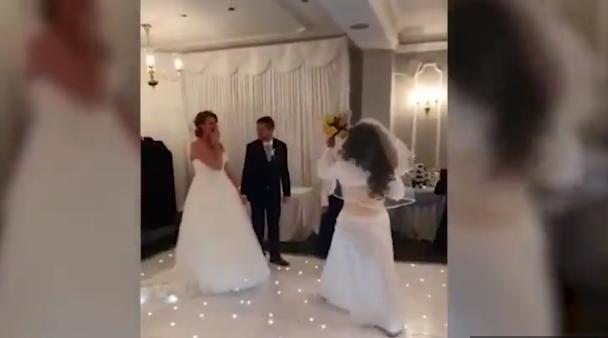 Невеста была шокирована / Скриншот