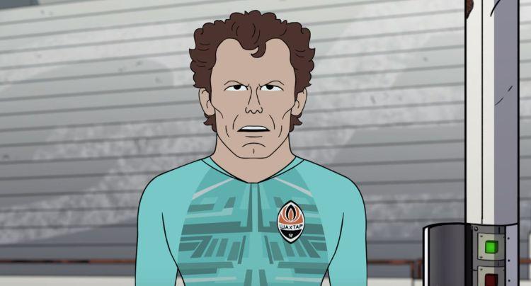 Андрій Пятов в мультфільмі The Champions / фото: скріншот