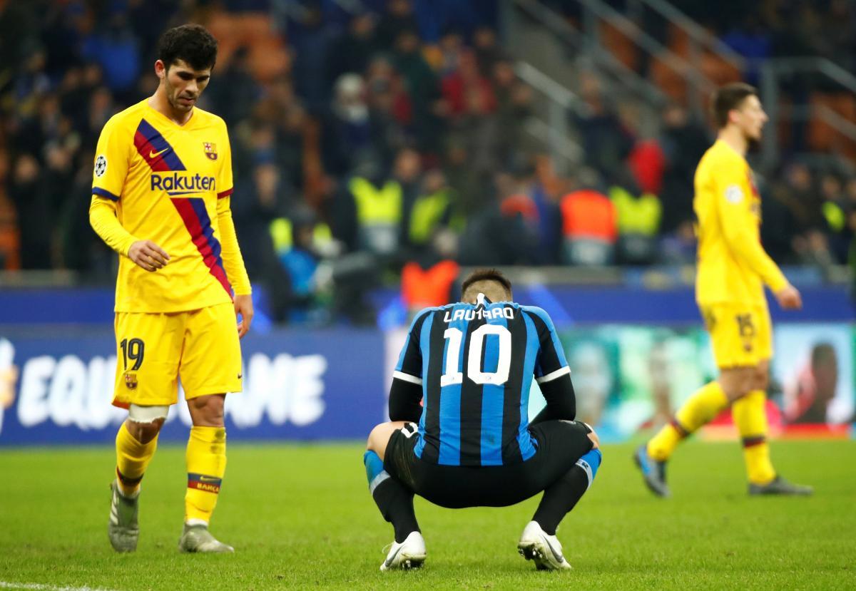 Інтер - Барселона / REUTERS