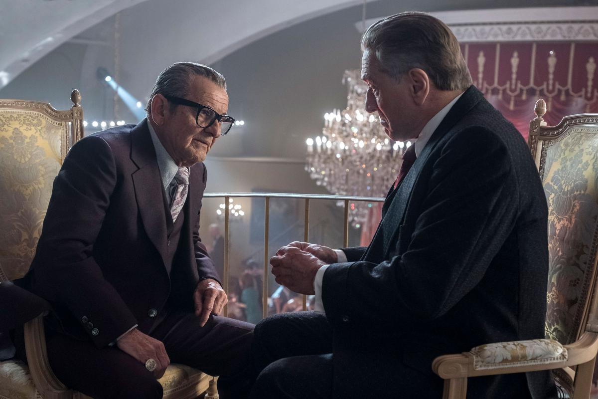 «Ірландець» — один з основних претендентів на Оскар/ фото NETFLIX