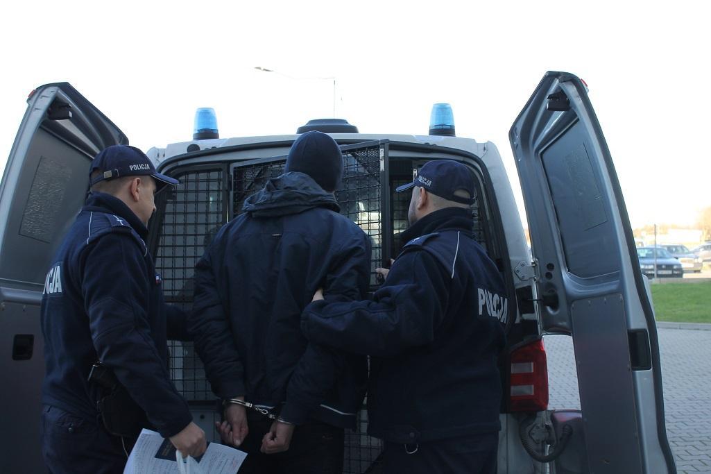 Затримання українського водія напідпитку / фото miedzyrzecz.lubuska.policja.gov.pl