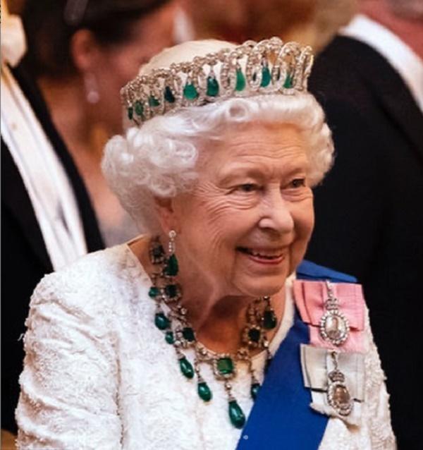 Королева Елизавета II устроила торжественный прием / фото instagram.com/theroyalfamily