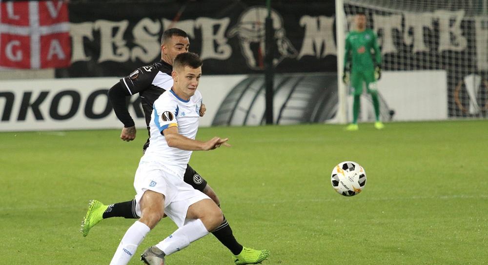 Динамо и Лугано прошлый матч сыграли вничью / фото: dynamo.kiev.ua