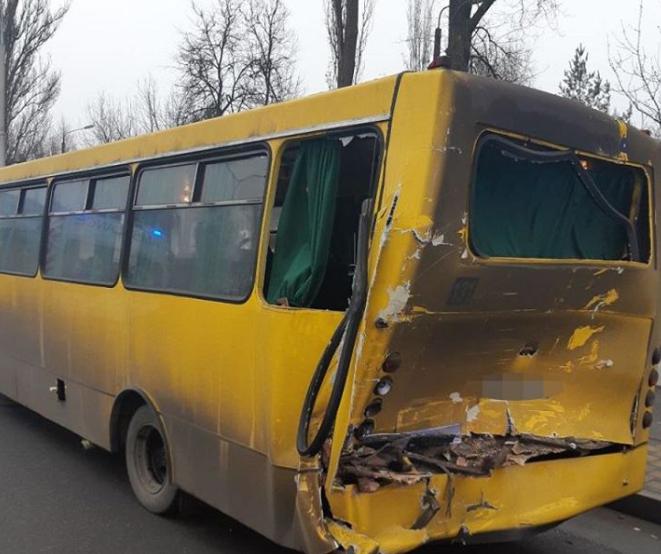 ДТП в Киеве: пять пострадавших / Фото: Нацполіція