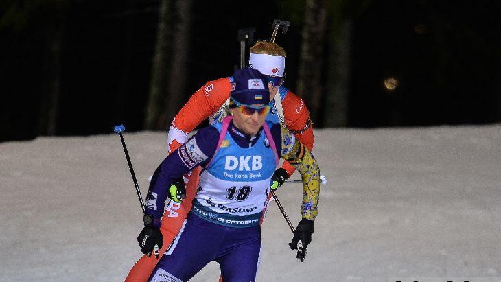 Валентина Семеренко избежала промахов / фото: biathlon.com.ua