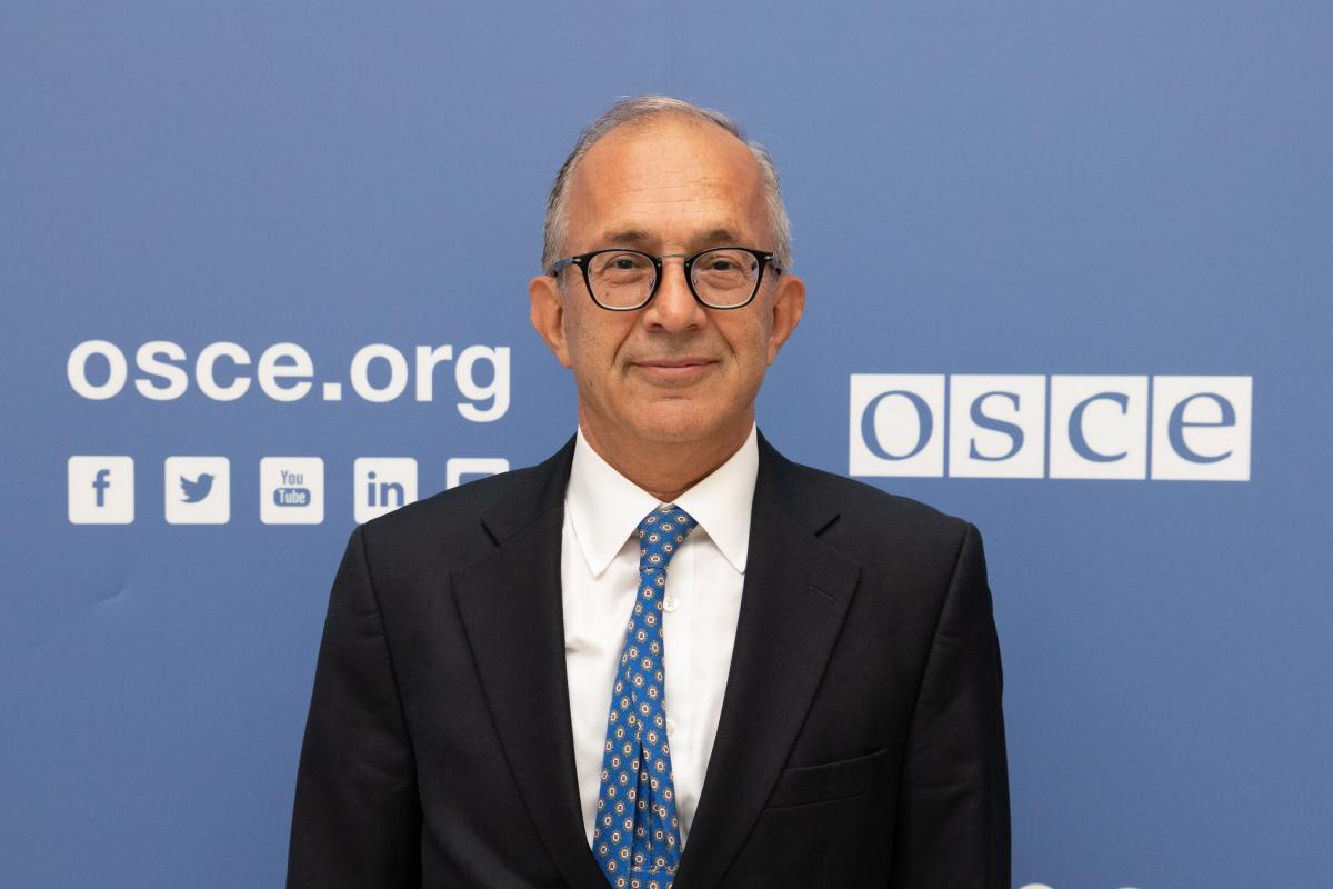 OSCE SMM Chief Monitor Yaşar Halit Çevik / Photo from facebook.com/oscesmm