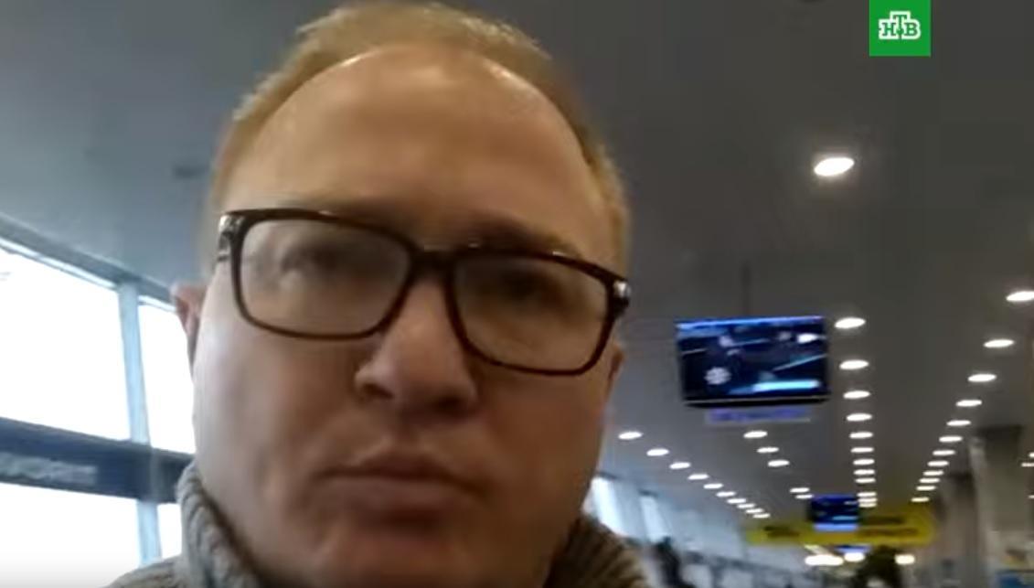 Съемочная группа россиян сразу озвучила пограничникам цели визита в Украину / Скриншот