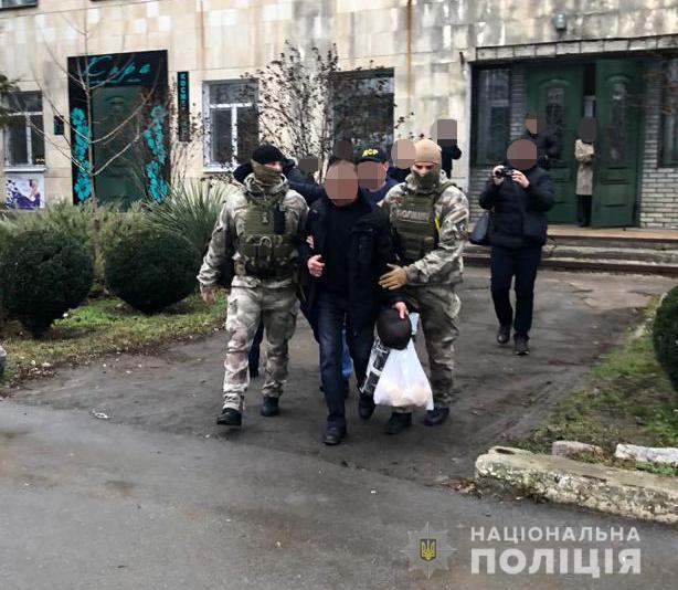 На Херсонщині затримано депутата / Фото: Нацполіція