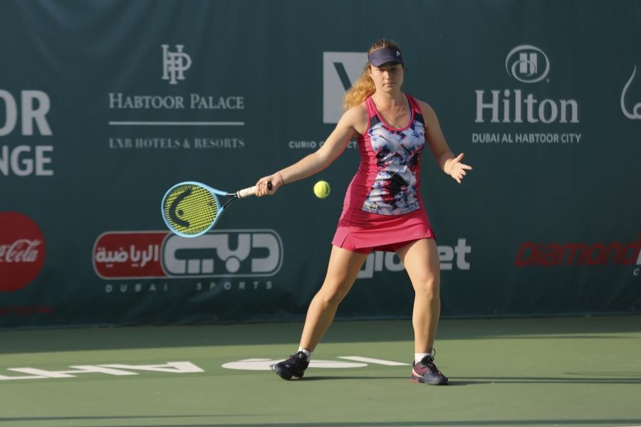 Дарья Снигур в четвертый раз в сезоне играла в финале турниров ITF / фото: habtoortennis.com