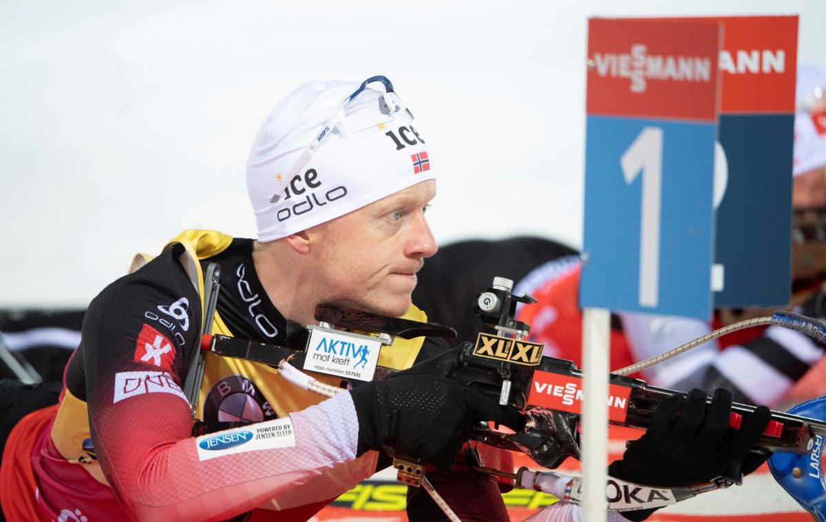 Йоханнес Бёвыступил хуже своего родного брата, выигравшего гонку / фото REUTERS