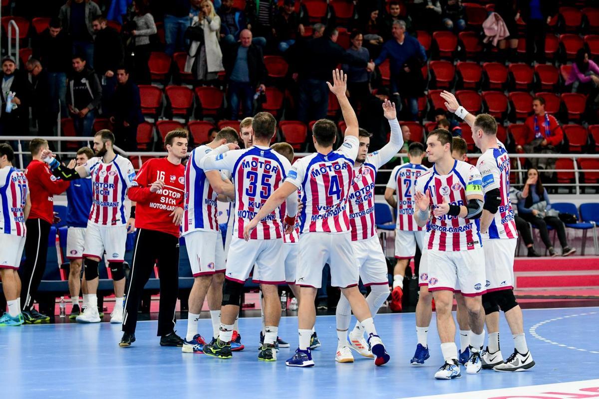 Мотор одержал седьмую победу в девяти матчах / фото: handball.motorsich.com