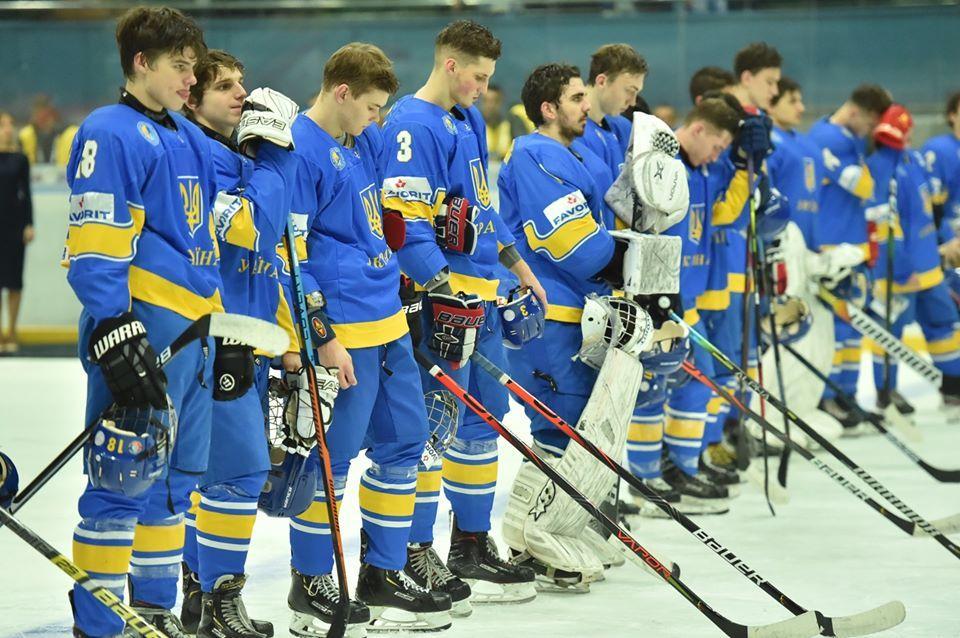 Украинцы одержали первую победу на турнире / фото: facebook.com/pg/fhu.com.ua