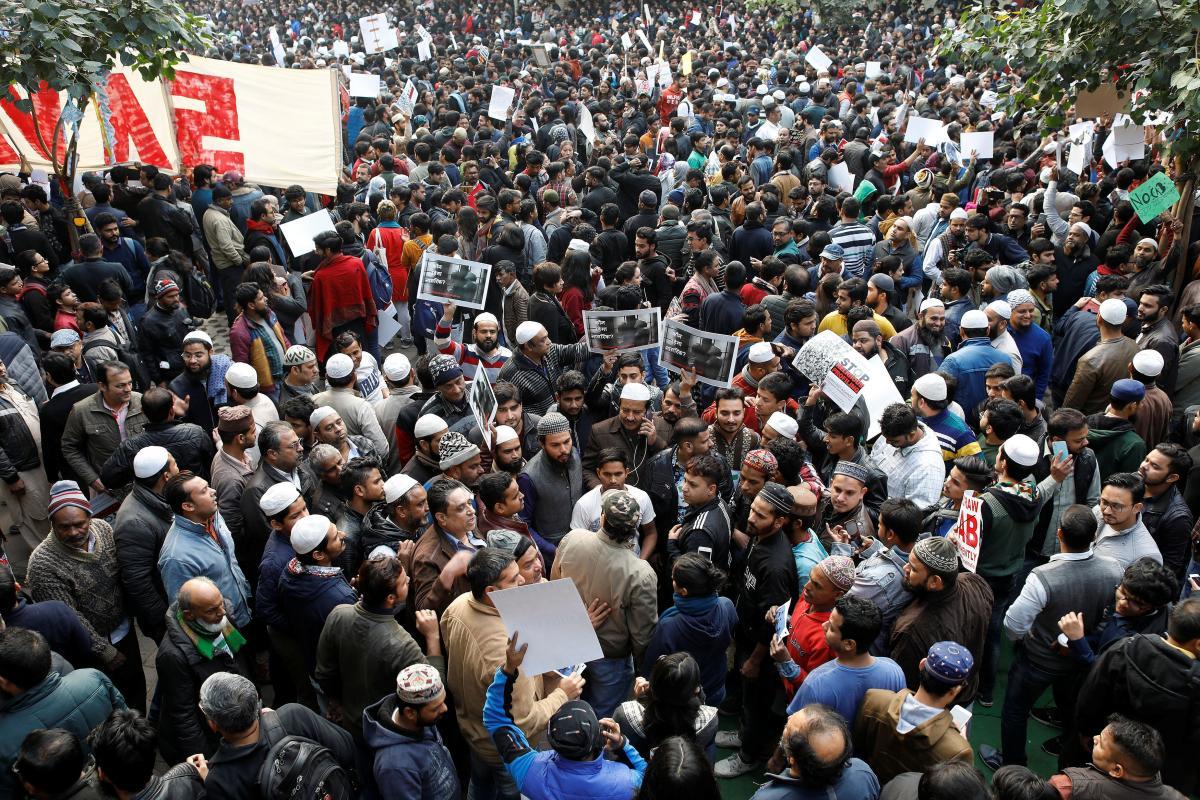 Протесты в Индии / REUTERS
