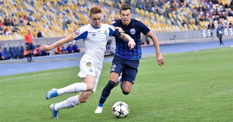 Динамо прошлый матч против Десны проиграло / фото: ФК Динамо